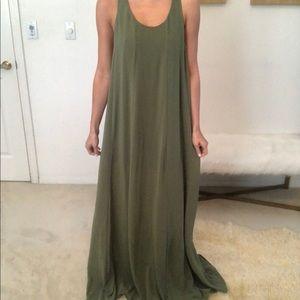 Show me your mumu green maxi dress